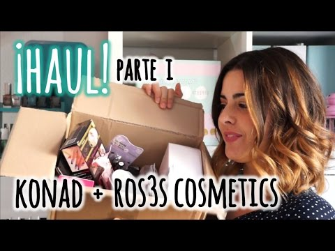 HAUL! | Konad + Ros3s Cosmetics