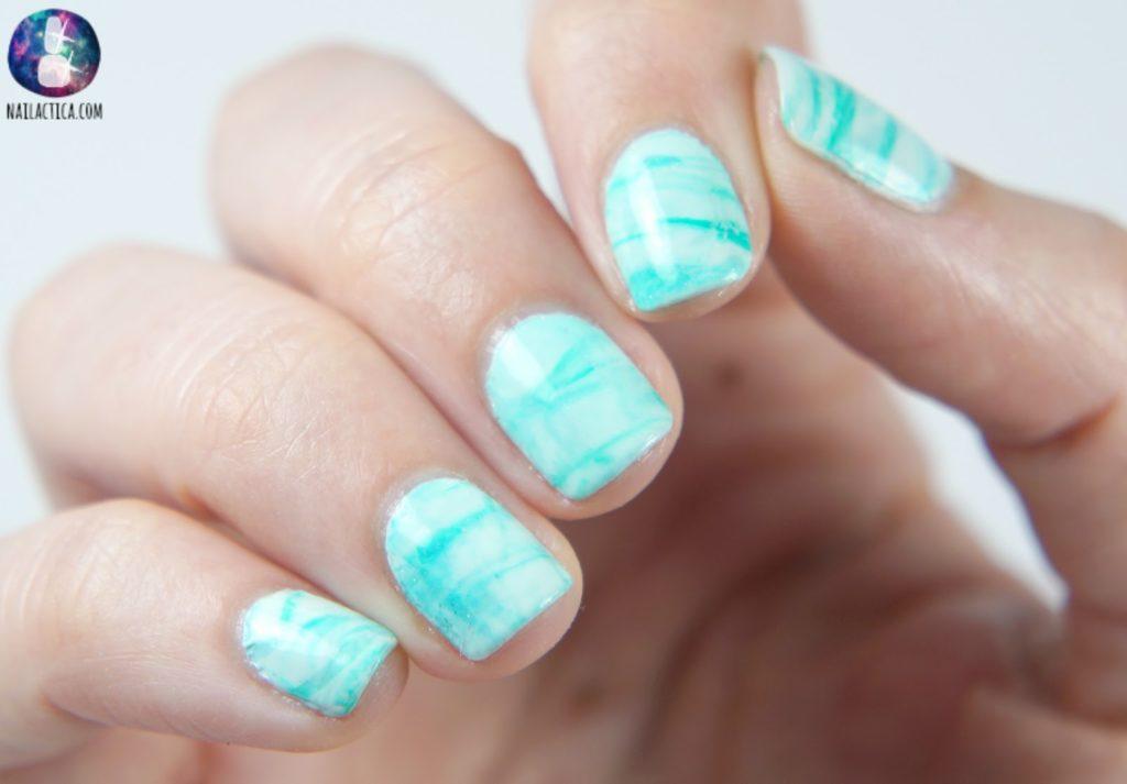 uñas de marmol sin agua